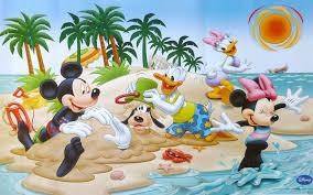 donald duck daisy duck mickey mouse minnie aand goofy summer