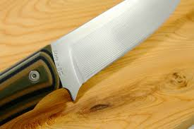 new finish on our osprey and coho outdoor knives 4