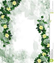 Invitation Card Border Design Floral Border Design Invitation Element Stock Images Image 5801634