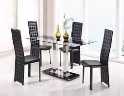 Clear Dining Room Table Furniture Glass Dining Table Dining Furniture Dining Tables