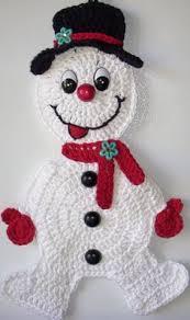 crochet snowman inspiration teresa restegui http www