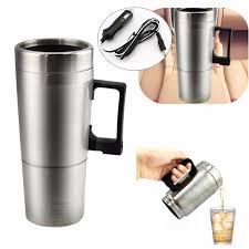 Heated Coffee Mug by 1pcs 12v Stainless Steel Car Heating Cup Milk Water Tea Coffee
