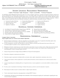 Sample Senior Management Resume Sample Cover Letter Procurement Assistant 2 Procurement Specialist