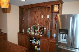 Home Bar Cabinet With Refrigerator - home bar photos and ideas