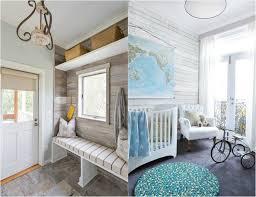 lambris mural chambre lambris bois blanc inviter le style cagne chic à la maison
