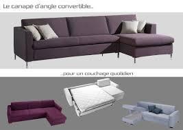 canapé lit d angle convertible besoin d un maxi canapé d angle avec un maxi couchage facile à