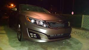 2013 kia optima led fog light bulb sx quad fog light install 2014 sx