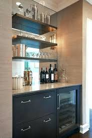 chalkboard ideas for kitchen floating bar shelves coffee bar in the kitchen with chalkboard wall