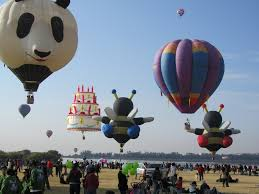 birthday cake air balloon flying with bees and panda b u2026 flickr