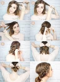 20 easy no heat summer hairstyle tutorials for medium hair gurl com