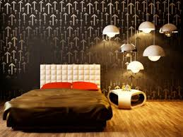 Graphic Wall Painting Ideas Designs Wall Art - Bedroom wall paint designs
