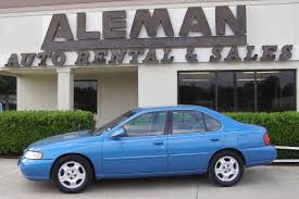 Nissan Altima Blue - aleman auto sales of mcallen photos of unit 10150 2000 nissan