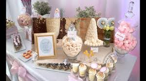 first holy communion table centerpieces creative first communion party decorations ideas youtube