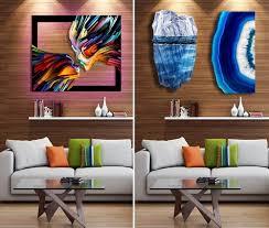 designart usa modern art paintings abstract painting u0026 metal
