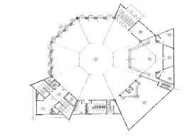 administration office floor plan museum