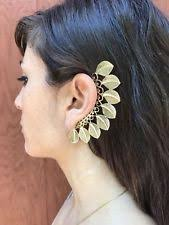 how to make feather ear cuffs feather ear cuff earrings ebay