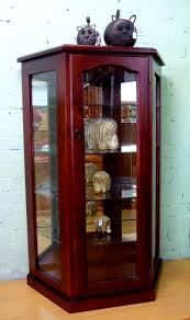 Wood Display Cabinets With Glass Doors Decoration Glass Display Unit Small Glass Wall Cabinet