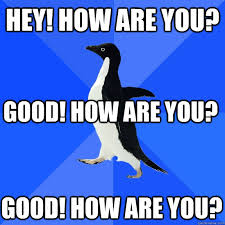 Meme Socially Awkward Penguin - socially awkward meme social media la