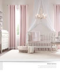 Purple Nursery Curtains by Restoration Hardware Quartos Para Verdadeiras Princesas Nursery