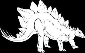 stegosaurus coloring coloring pages animals org