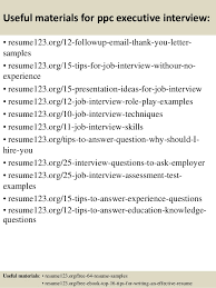 Executive Resumes Samples Free by Top 8 Ppc Executive Resume Samples