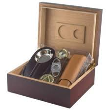 cigar gift set cherry cigar humidor and cigar accessories gift set