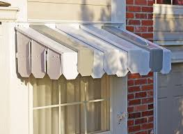 Metal Window Awnings Brookside Window Awning With Flat Side Panels