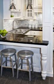 Kitchen Peninsula Design Best 25 Small Kitchen Peninsulas Ideas On Pinterest Kitchen