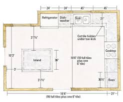 kitchen floor plans with dimensions kitchen floor plans with