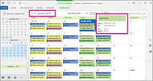 afficher outlook sur le bureau modifier l affichage de votre calendrier outlook outlook