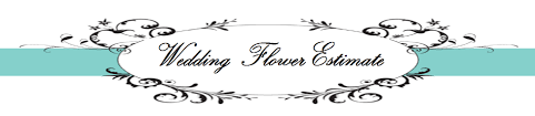 wedding flowers estimate estimate