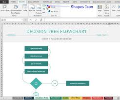 how to find and use excel u0027s free flowchart templates