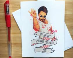 Cute Valentine Meme - salt bae love card printable funny anniversary card for