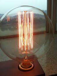 1 large antique vintage edison style light bulb 40w