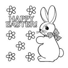 15 free printable easter bunny coloring pages gardens