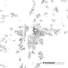 Ground Plan by Site Plan U0026 Figure Ground Plan Of Erlangen For Download As Pdf Dxf