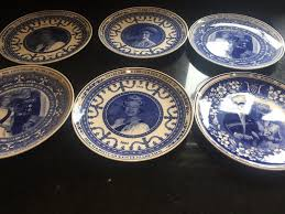 celebration plates 6 royal celebration plates by wedge wood in coulsdon london