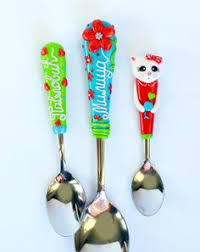 personalized spoons minnie mouse personalized gift cutlery set girl spoon and fork