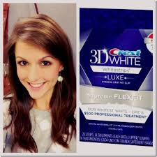 crest supreme whitening strips crest 3d white whitestrips luxe supreme flexfit review