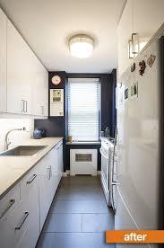 Apartment Therapy Kitchen Cabinets Before U0026 After Lisa U0026 Brian U0027s Brooklyn Kitchen Transformation