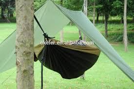 outdoor camping hammock canopy hammock cover hammock rain fly