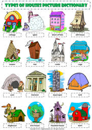 Different Styles Of Homes Types Of Houses Vocabulary Pictures House Pictures