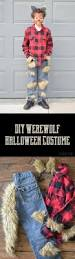 How To Make A Skeleton Costume For Halloween by Diy Werewolf Halloween Costume The Happy Scraps