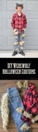 diy werewolf halloween costume the happy scraps