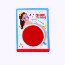 face body painting blood red color natural rubber latex 2ml 2pac