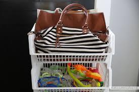organized luggage closet the sunny side up blog