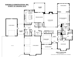 farinelli constructions floor plan for street of dreams 2014 home