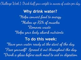 Water Challenge How To Do Fleur De Week 1 Drink Up