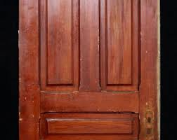 Five Panel Interior Door Old Wood Door Antique Interior Door Building Supply