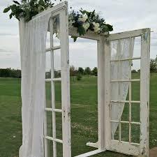 wedding arch using doors 71 best door images on doors wedding backdrops
